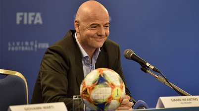 Infantino: Men can learn from the women's game