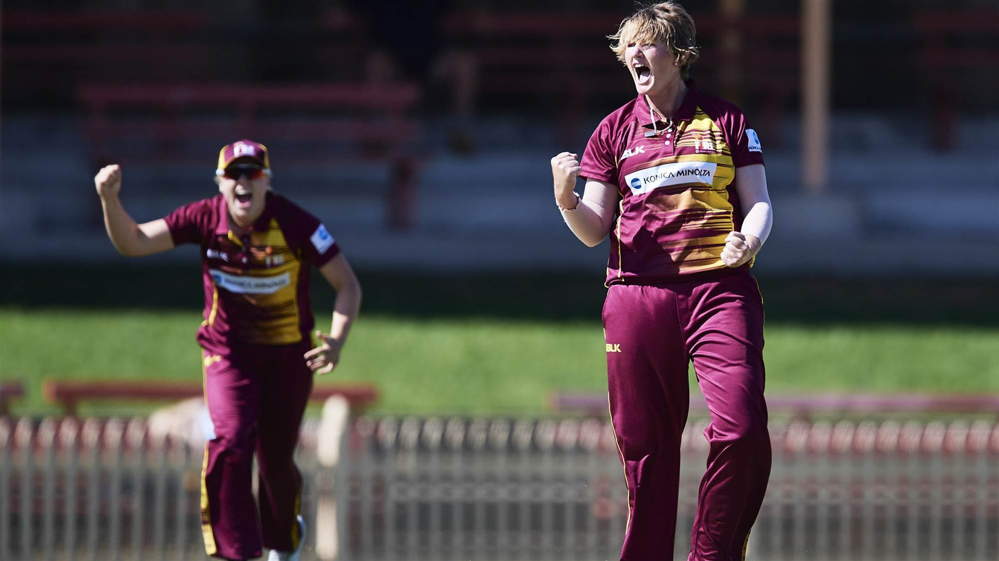 Sammy-Jo: I don't just want to be a bowler