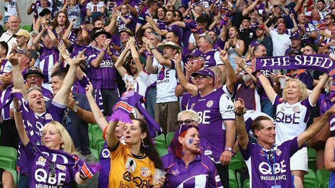 Perth Glory superfan: 'This is an out of body experience'