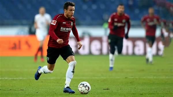 New German in to replace injured Rado Majewski