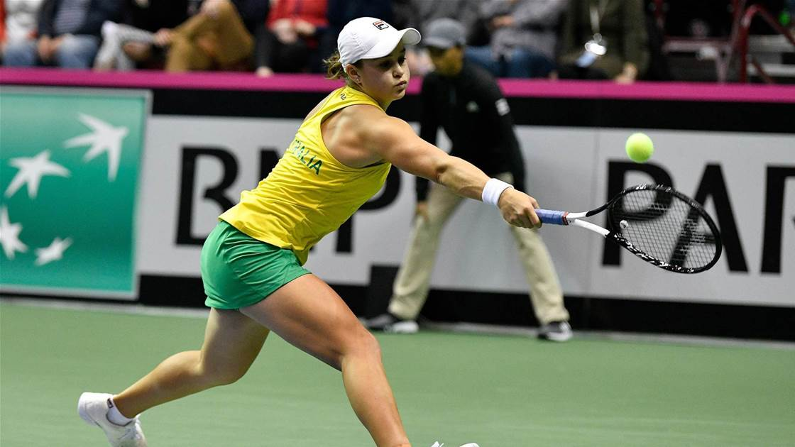 Barty and Keys leading the way in Fed Cup