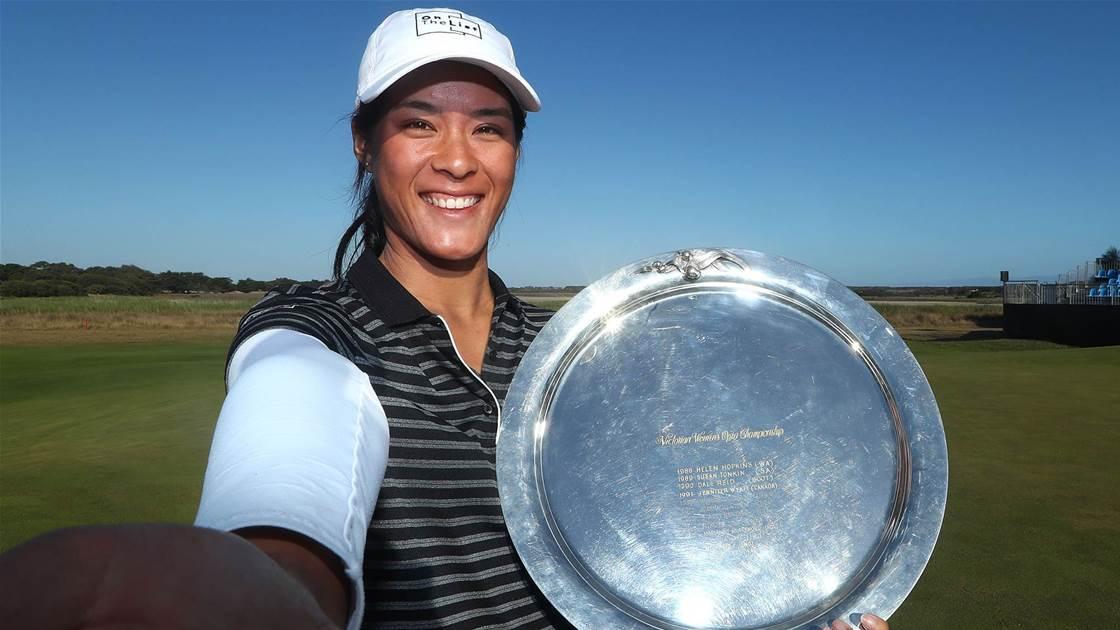 Brilliant Boutier wins women's Vic Open