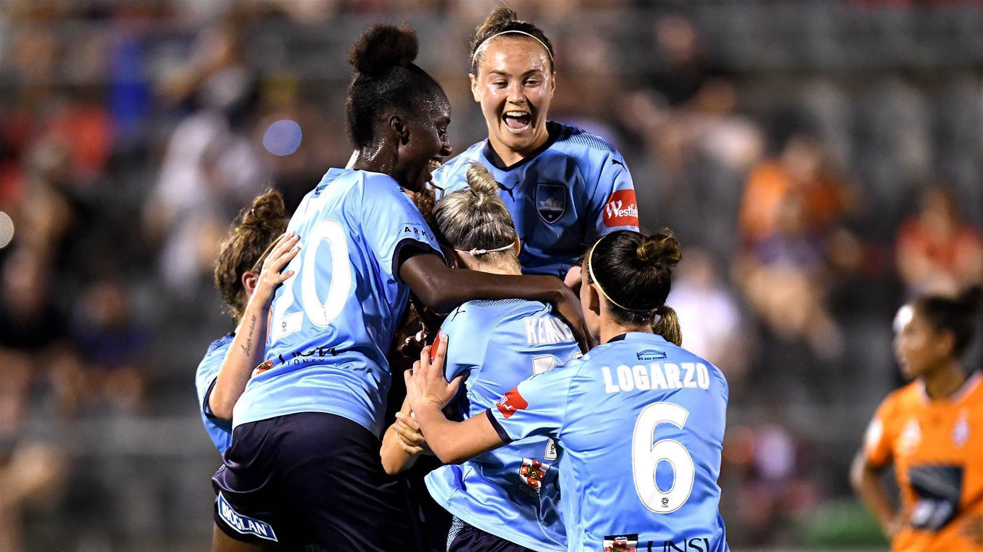 Sydney strike twice to book final