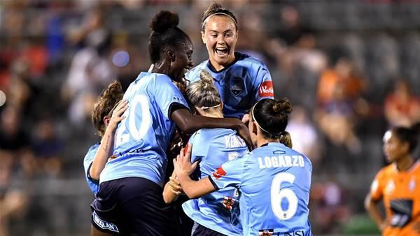 Sydney strike twice to book final