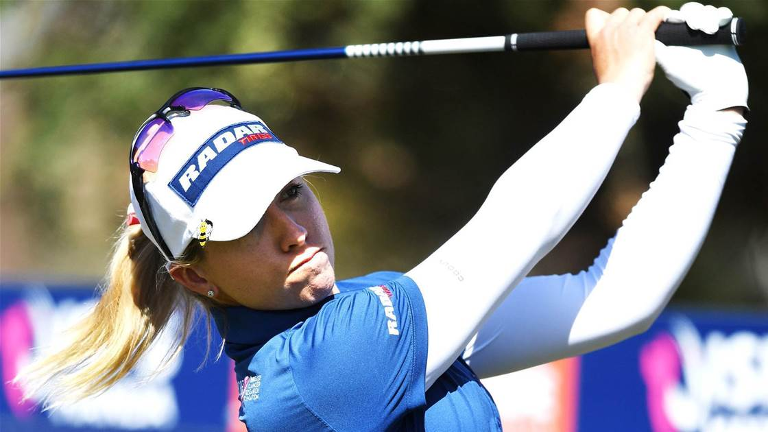 Stars lurk behind co-leaders at Women's Open