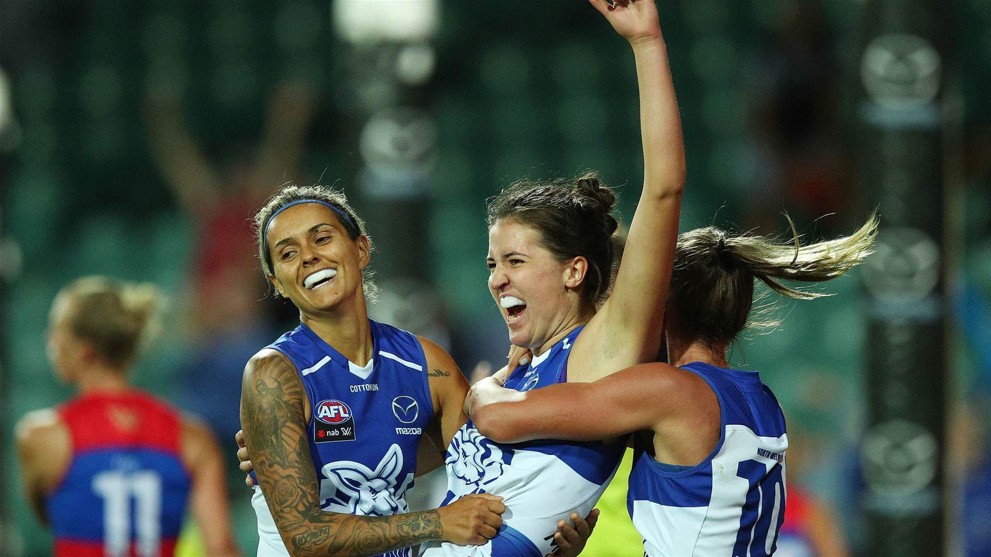 Roos without young gun, Giants lose marquee