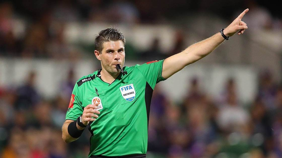 Evans to referee A-League Grand Final