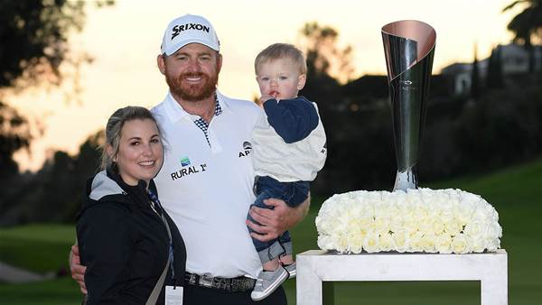 Holmes wins Genesis Open as Scott tumbles