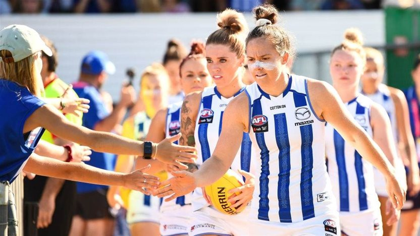 'We're only custodians': North Melbourne Kangaroos AFLW Preview