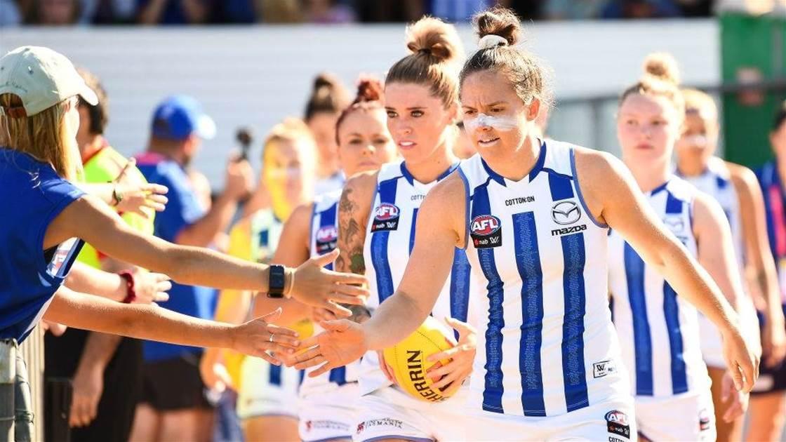 'We're only custodians': North Melbourne Kangaroos AFLW Preview