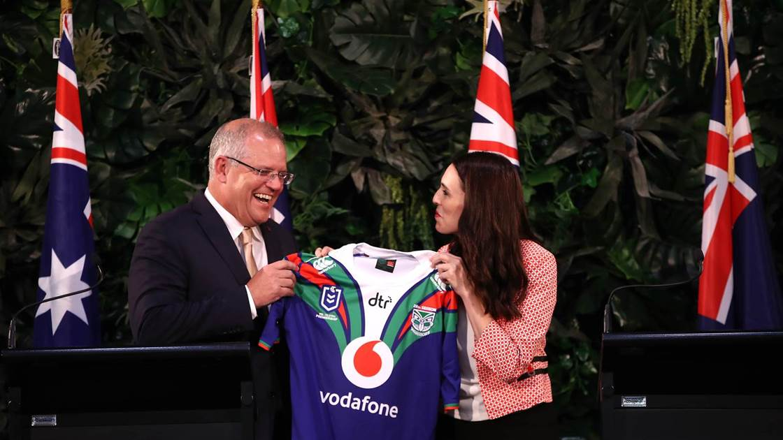 PM's support for Warriors