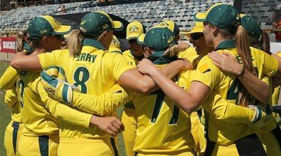 Aussie A women to play historic series