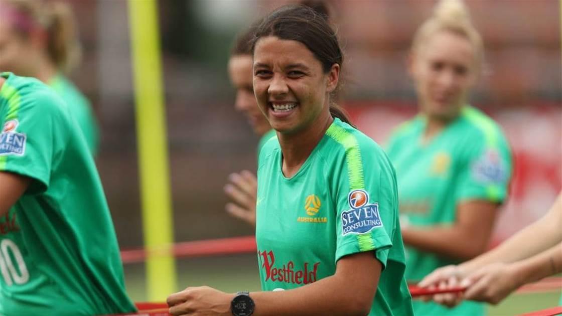 'She is in good spirits': Kerr doubts add depth test as Matildas opposition thicken