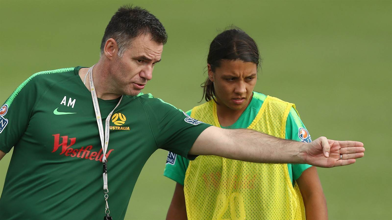 Matildas shrug off Stajcic past to focus on the future