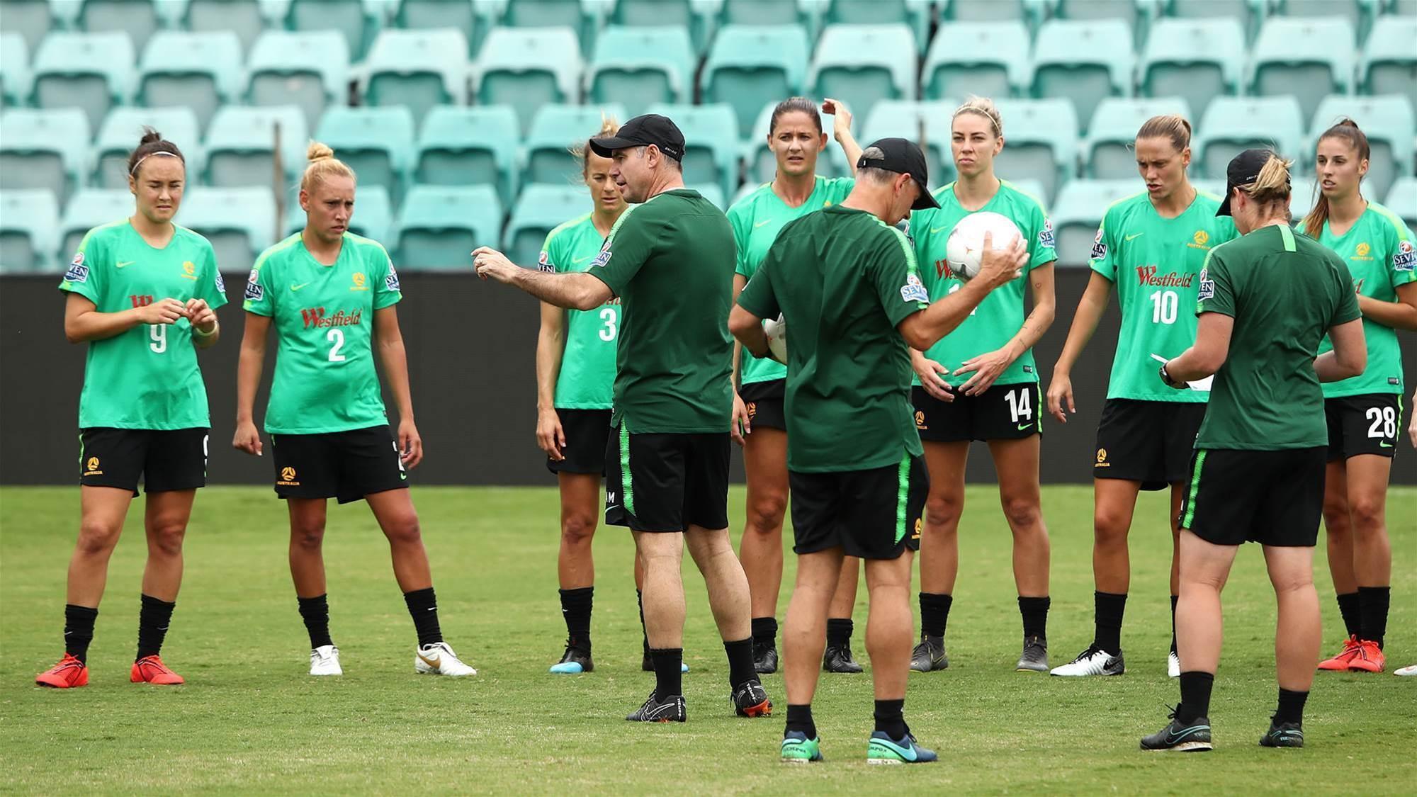 Milicic names Matildas squad for USA friendly