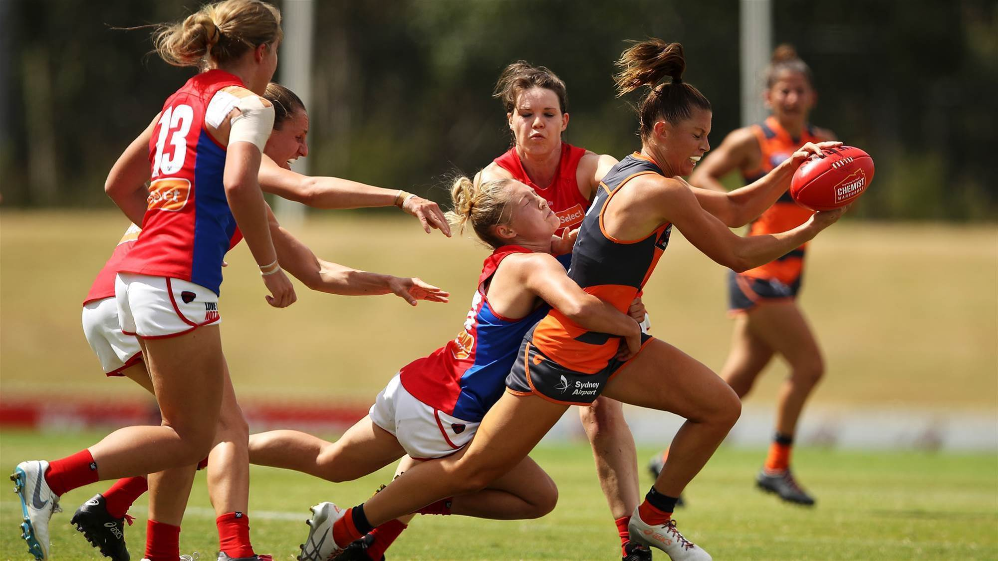 Giants outclassed by clinical Dees