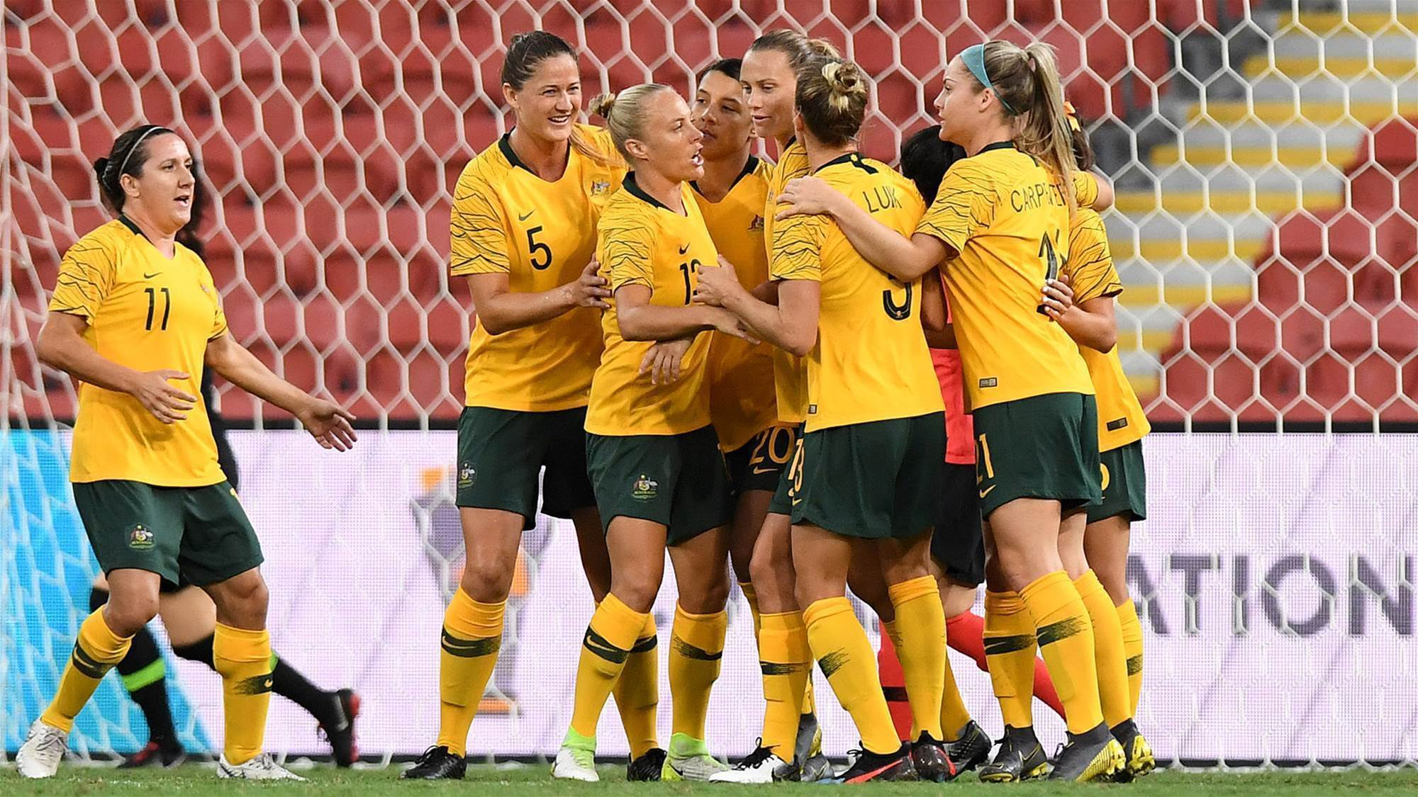 Matildas out do Korea Republic in Brisbane return
