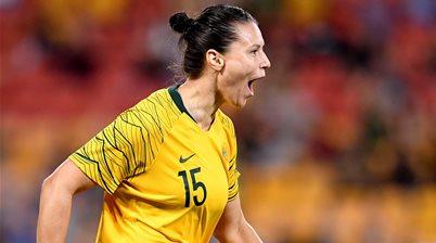 Matildas' Gielnik to leave Roar too