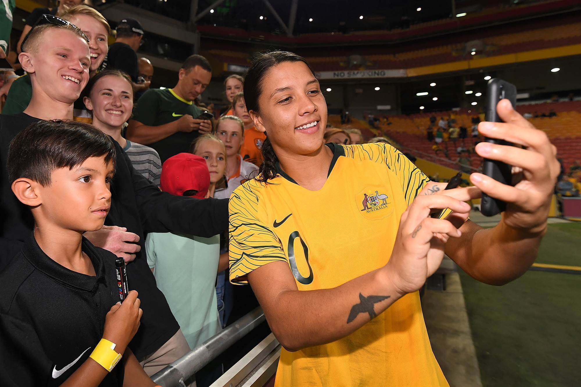 Watch! Nike - Sam Kerr: Birthplace of Dreams