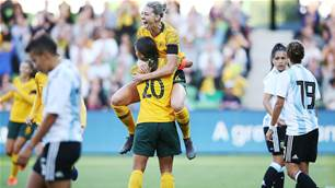 Matildas claim Cup of Nations