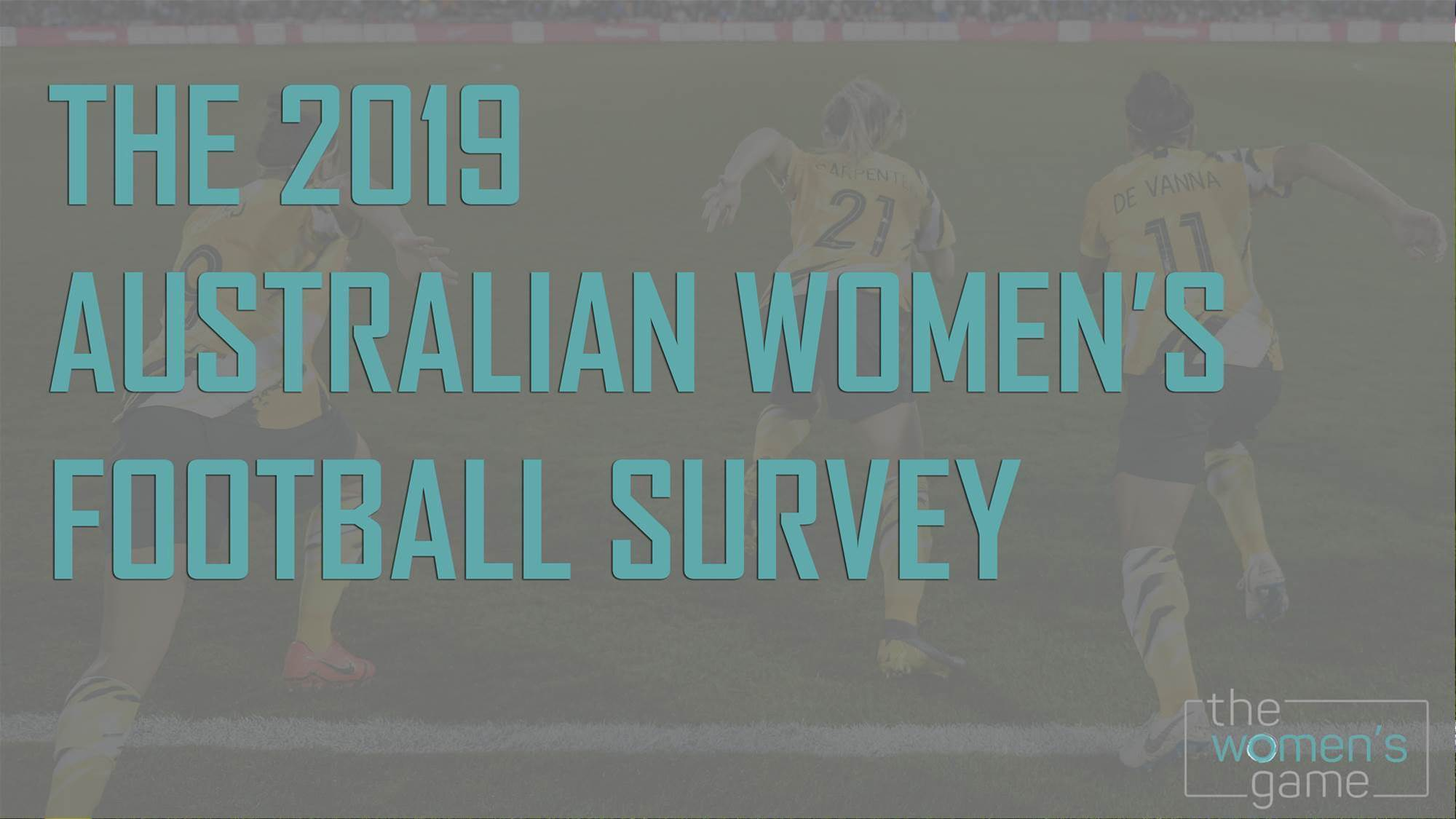It's here! The 2019 Australian women's football survey