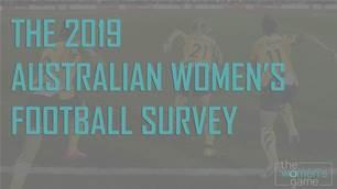 It's here! The 2019 Australian women's football survey