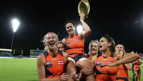 Return of a Legend: Gum nominates for AFLW draft