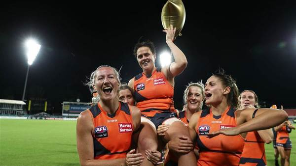 Return of a Legend: Gum nominates for AFLW draft