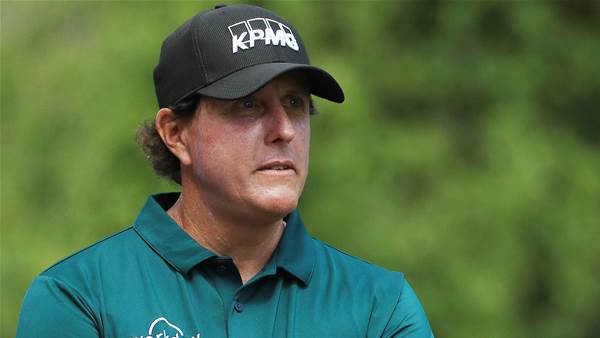 Mickelson a 'frustrating' opponent: Day