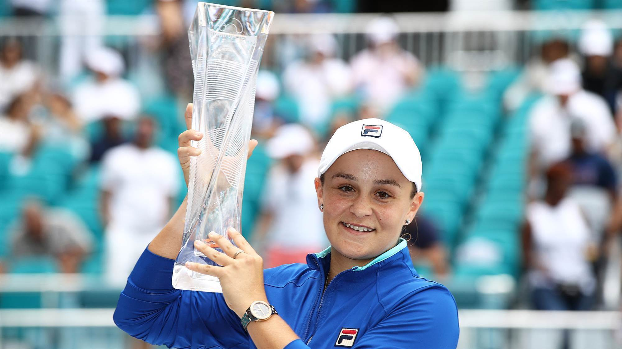 Barty wins Miami