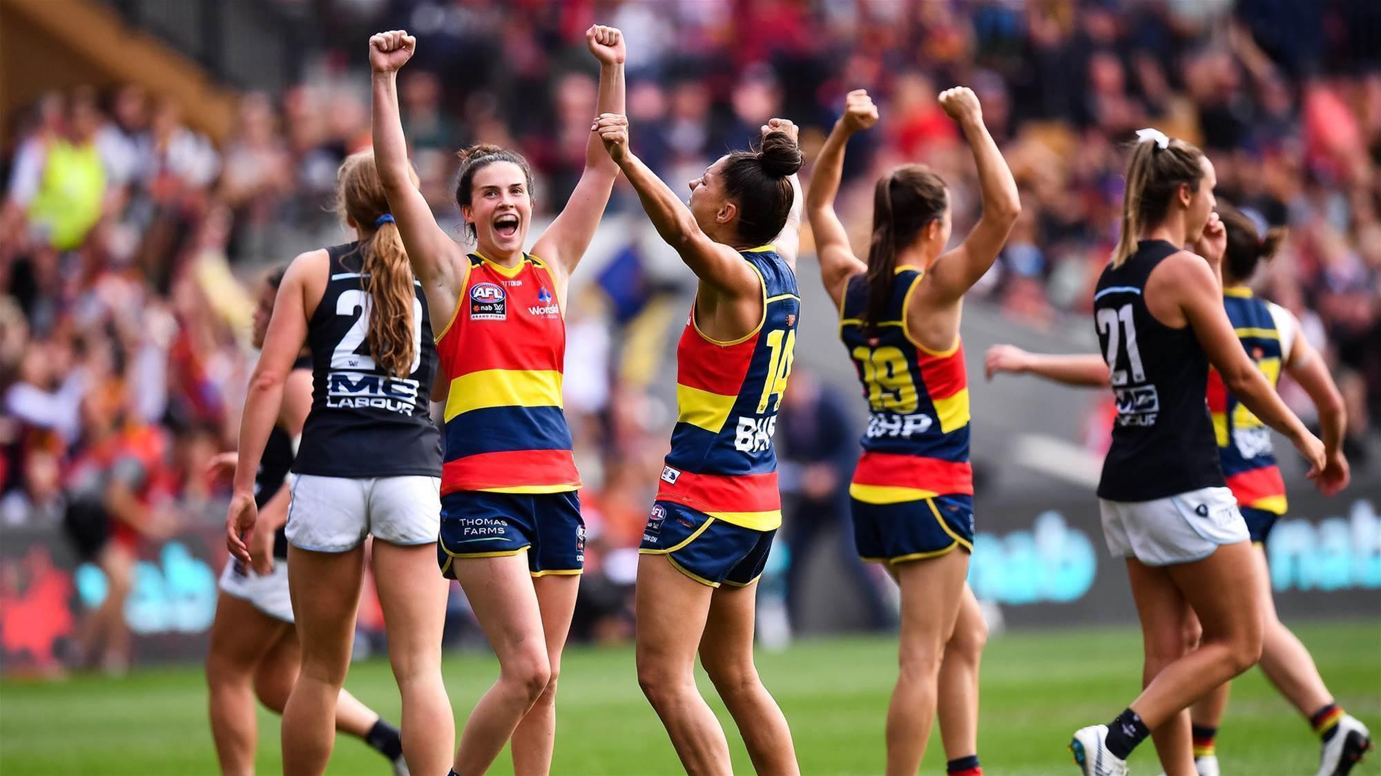 History created as Crows take Premiership