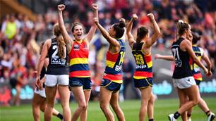 History created as Crows take Premiership