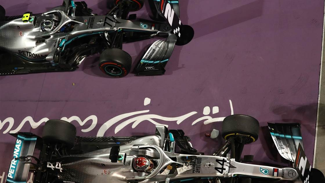 Mercedes wins in Bahrain amid Ferrari collapse