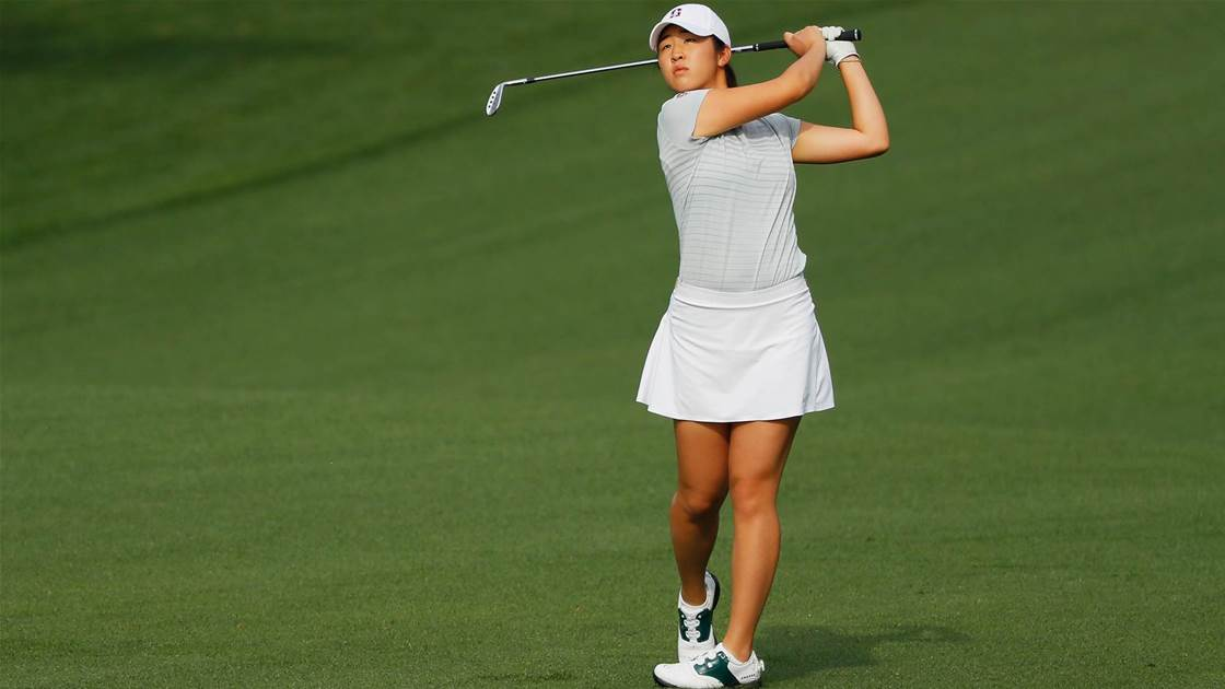 US Women's Amateur: Lee & Morard share first-round lead