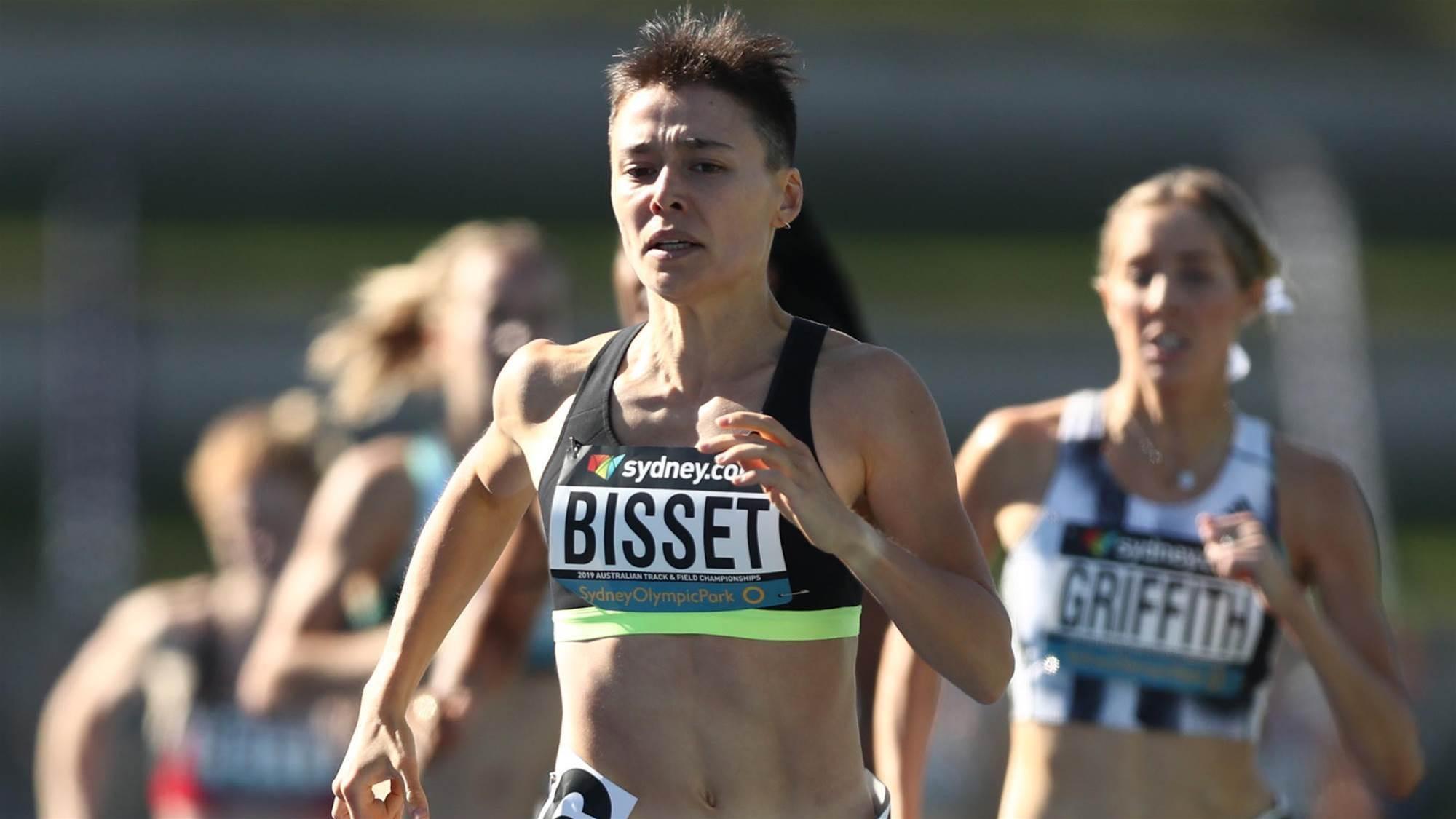 Bisset breaks sub-2 minutes barrier