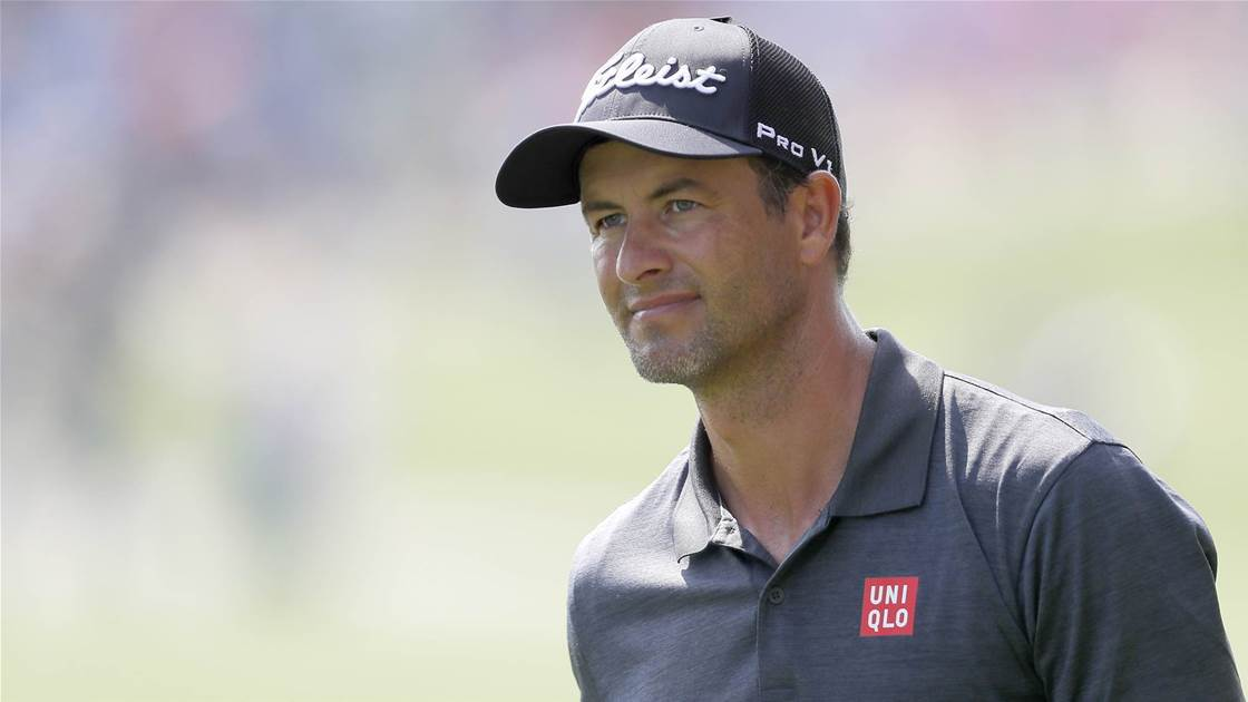 Adam Scott confirmed for 2019 Aus PGA