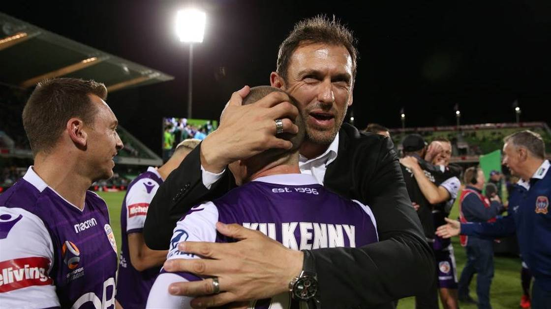 Glory unsure if Popovic will remain coach