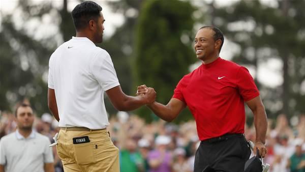 Finau pranked by Presidents Cup captain Woods