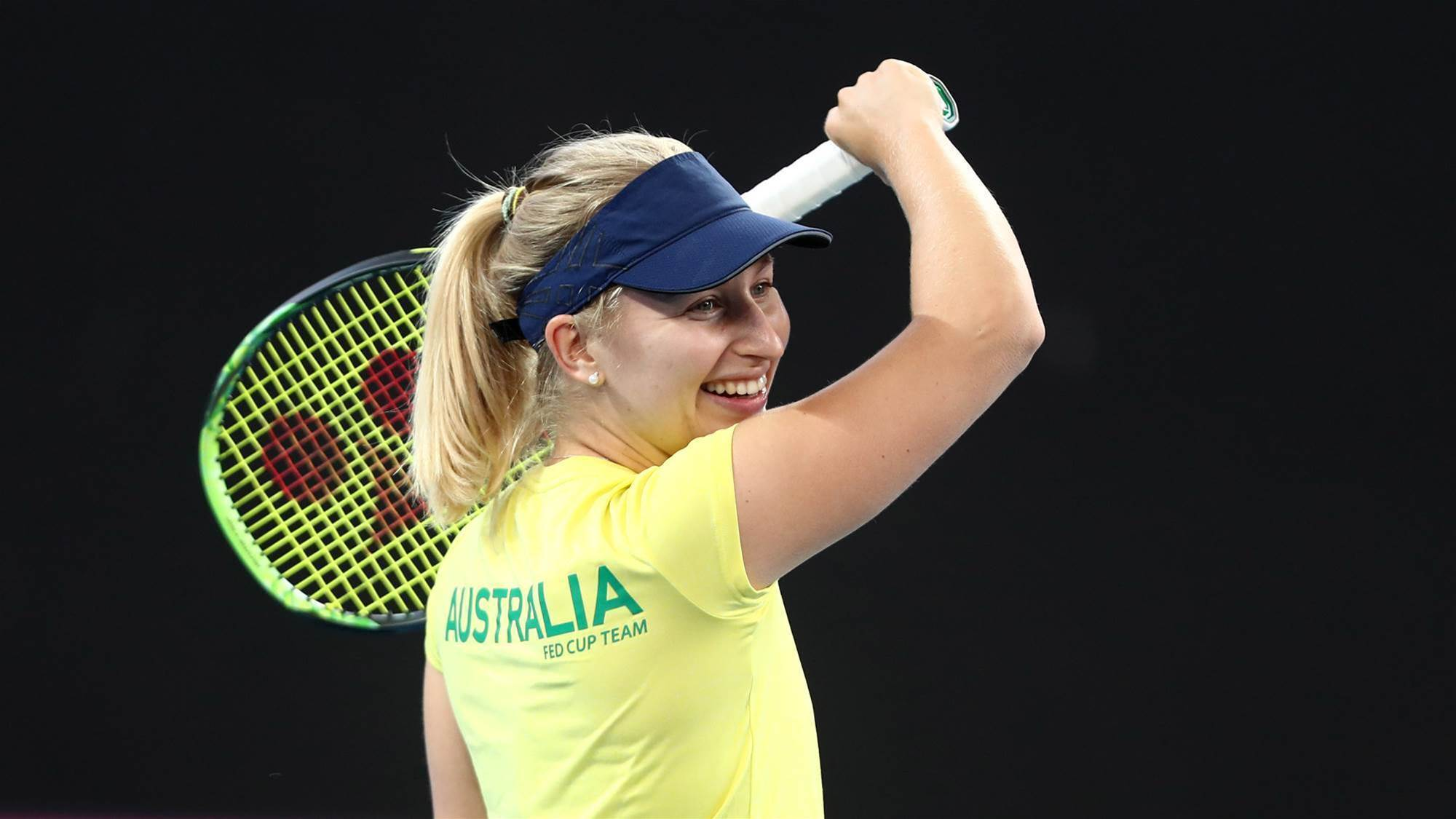 Gavrilova relishing time in Fed Cup envrionment