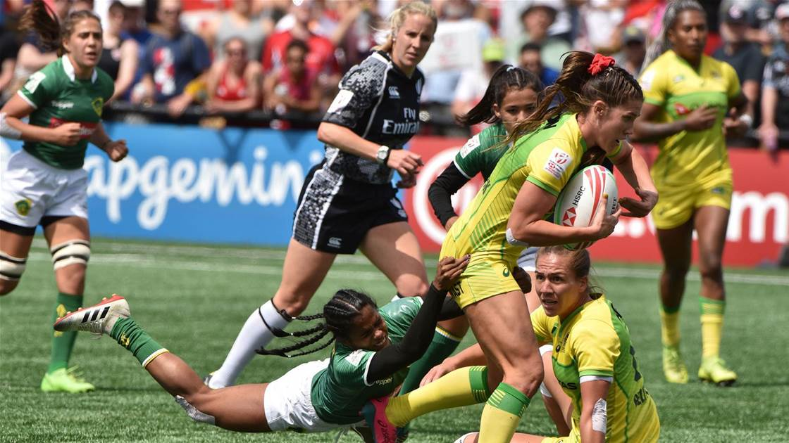 Aussie 7s perfect day in Langford