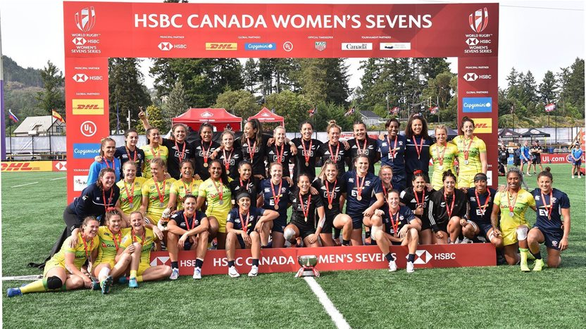 Aussies clinch silver at Canada Sevens