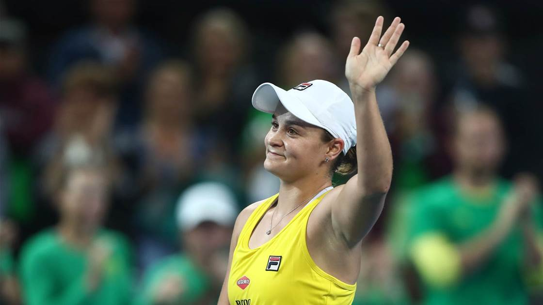Goolagong Cawley: Barty capable of winning Grand Slam