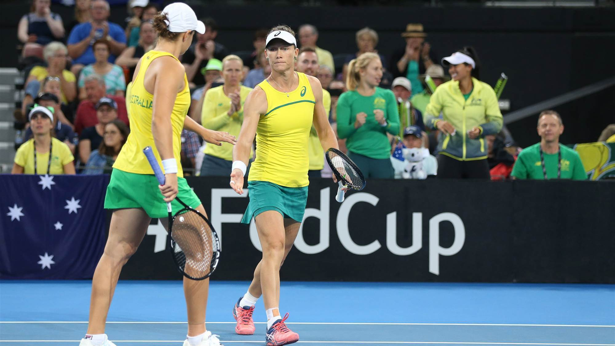 Australia break 26-year Fed Cup drought