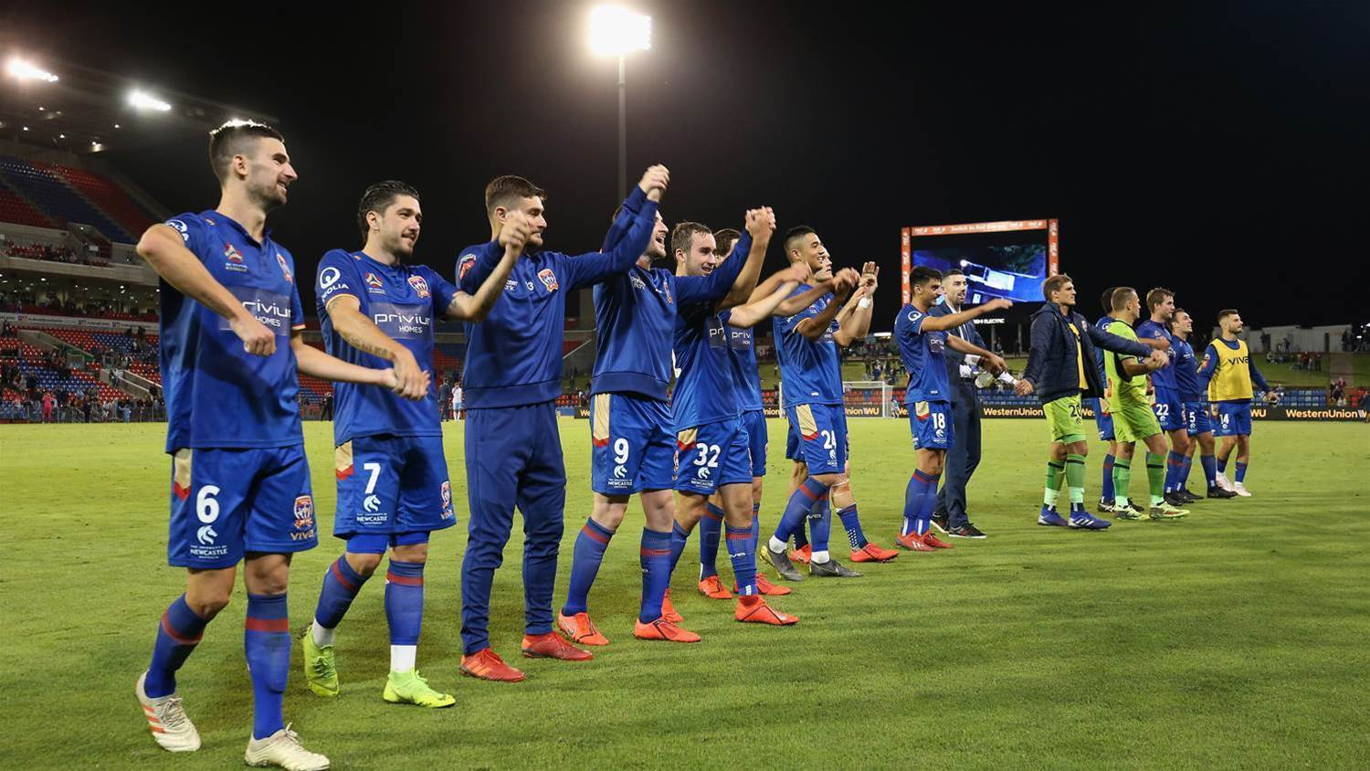 Newcastle Jets end on a high and a hope