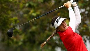 Hannah Green leads the Women's PGA