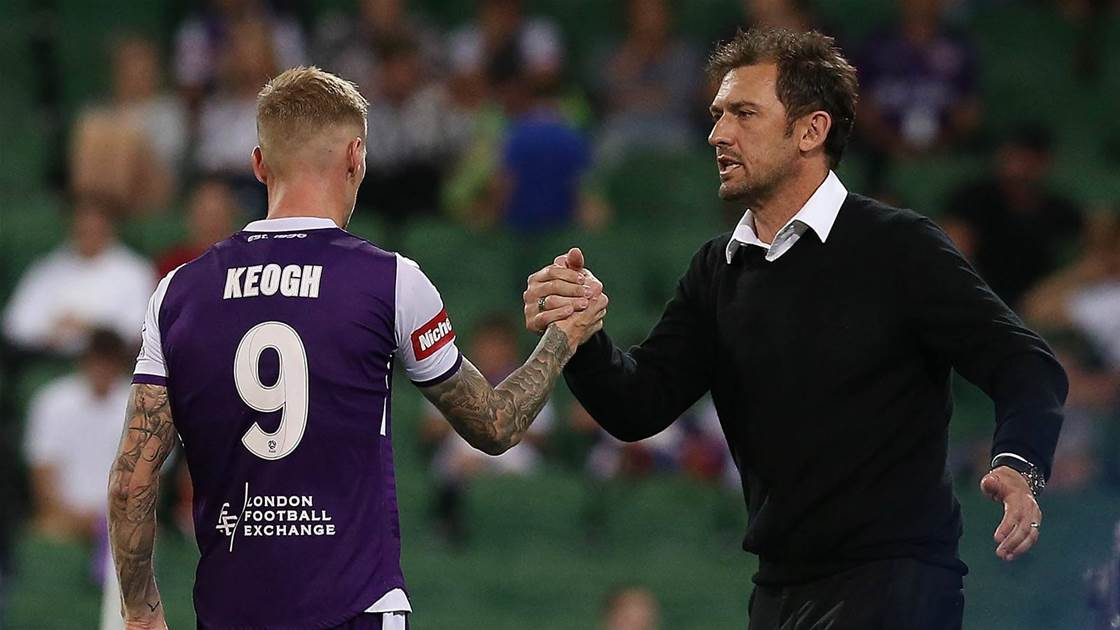 In-form Keogh eyes A-League double