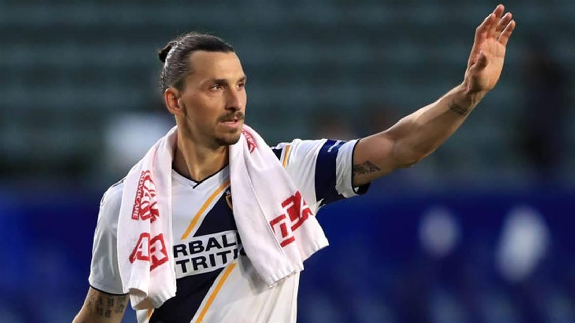Perth Glory confirm ambitious Zlatan bid