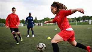 Obstacle course: What's stopping girls from playing football?