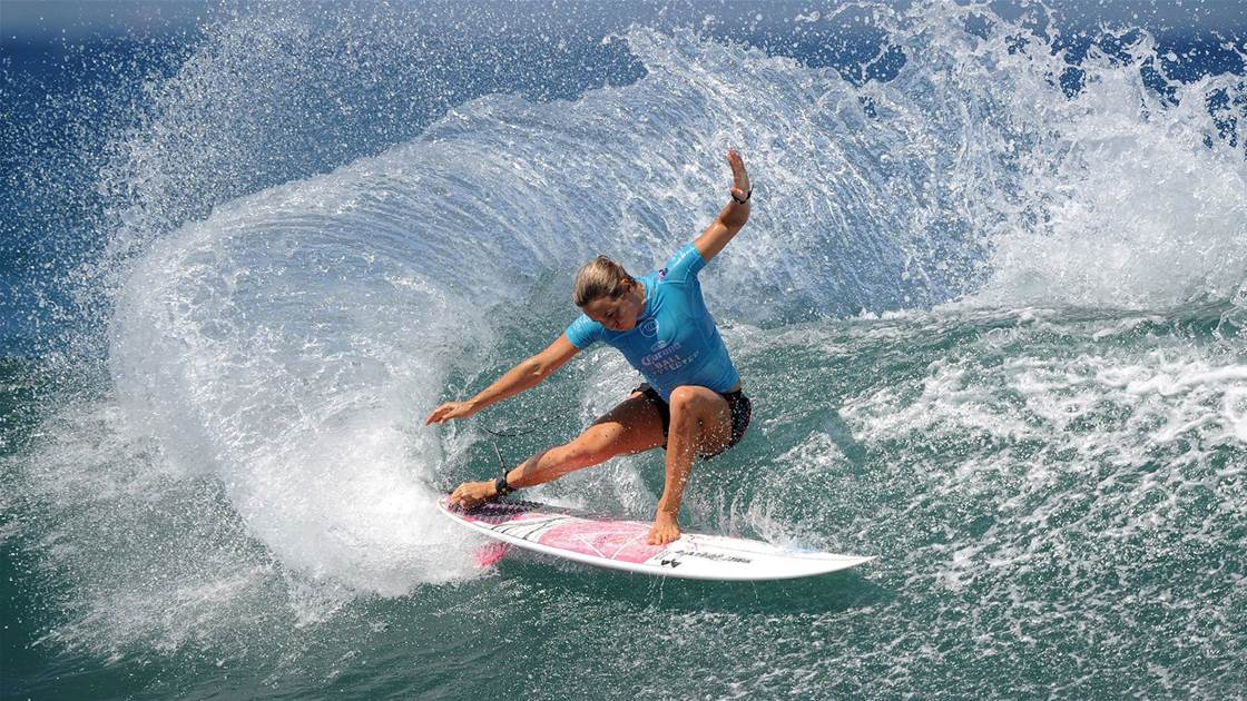 Fitzgibbons reaches surfing pinnacle