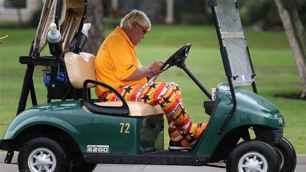 Cart for Daly at US PGA Championship